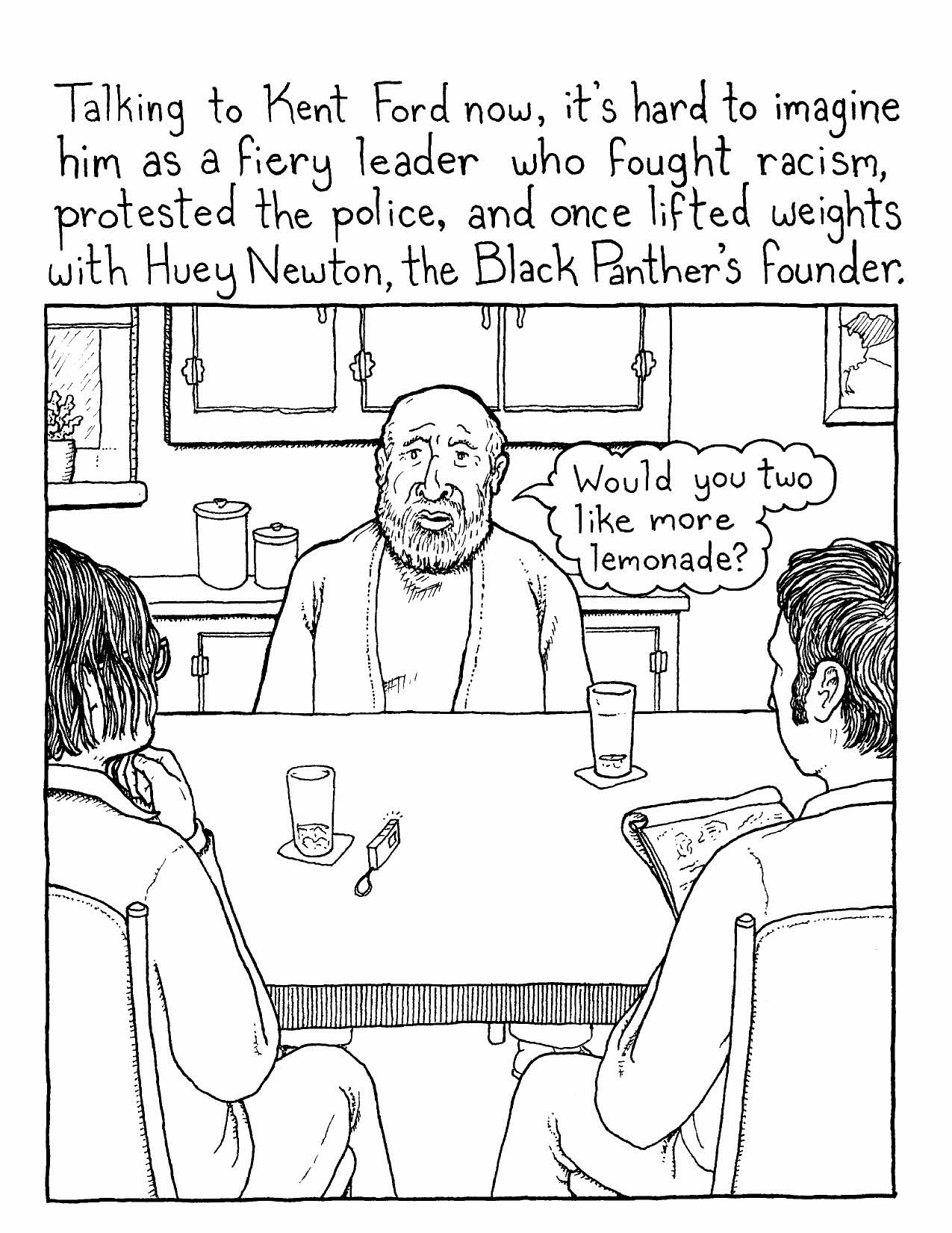 New Comic Book – Project #2- Portland's Black Panthers