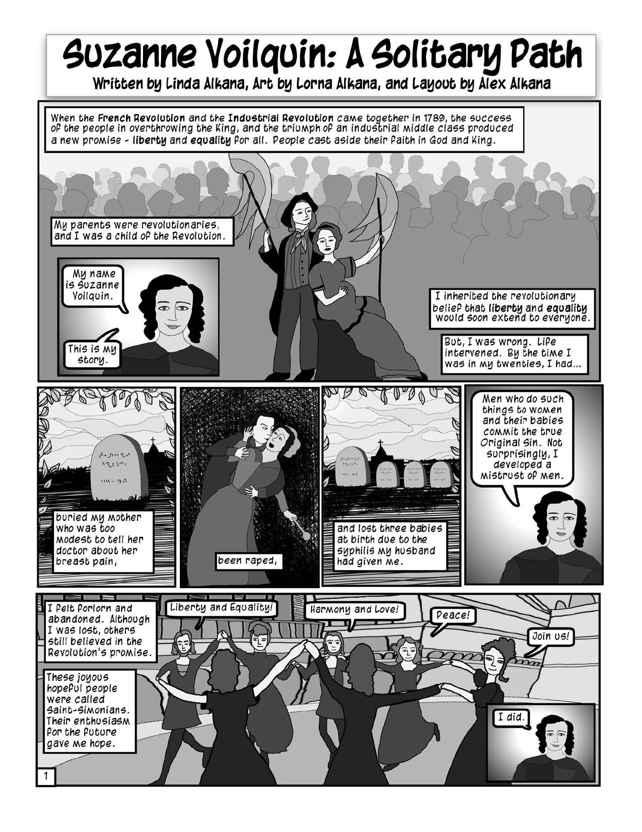 Project #3: Suzanne Voilquin Socialist Feminist