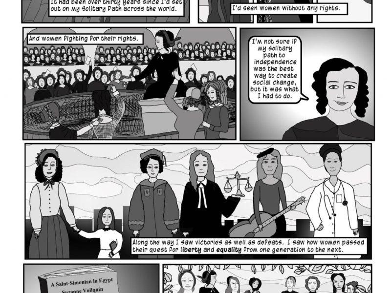 New Comic Book #3- Suzanne Voilquin A Socialist Feminist