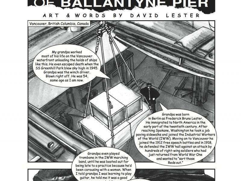 New Comic: The Battle of Ballantyne Pier