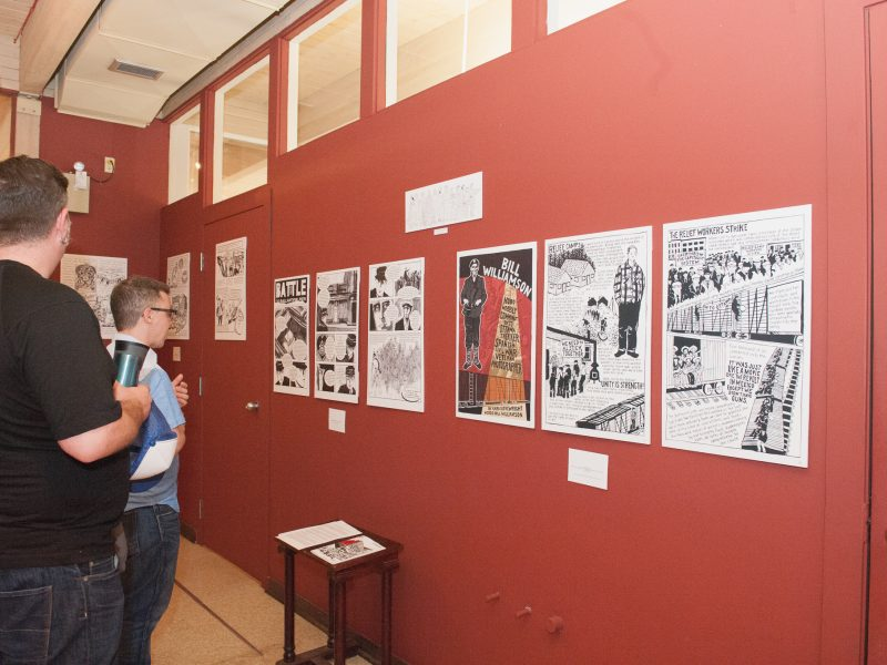 Illustrate! Educate! Organize! Working-class and Labour History Through Comics
