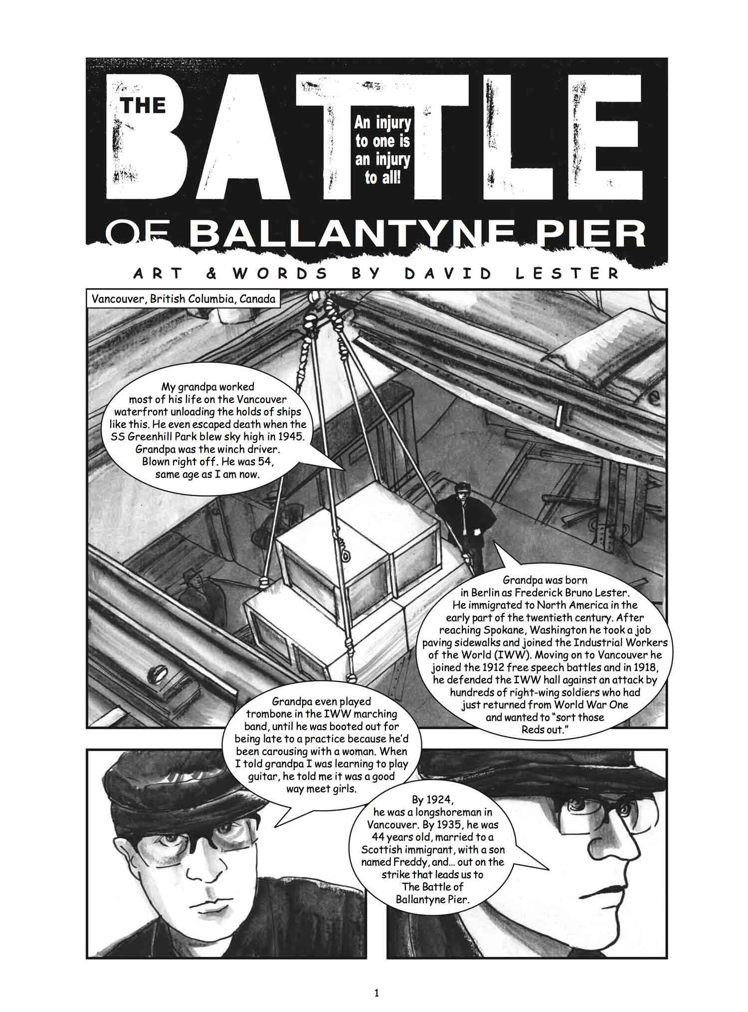 Preview #4: Battle of Ballantyne Pier