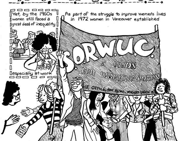 Preview #8: An Entirely Different Kind of Labour Union: The Service, Office, and Retail Workers' Union of Canada