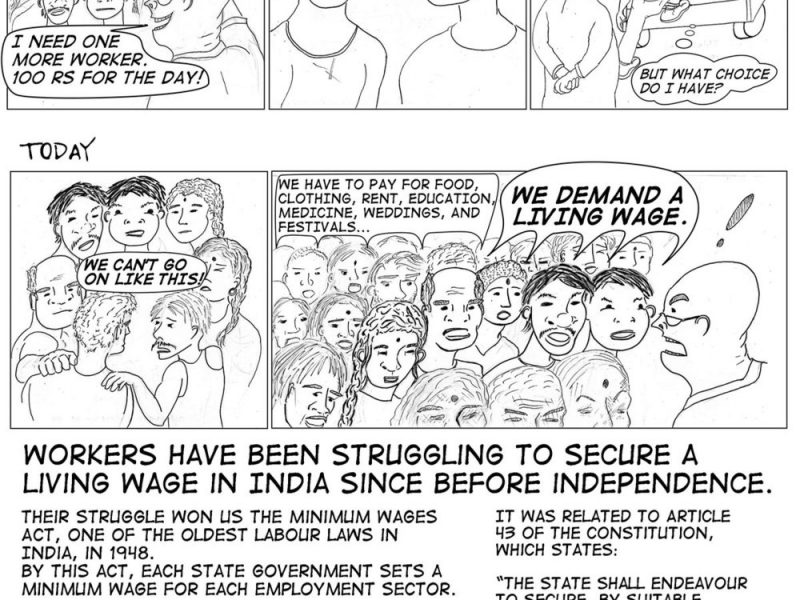 Guest Post: Why We Need a Minimum Wage Law: A Comic Book