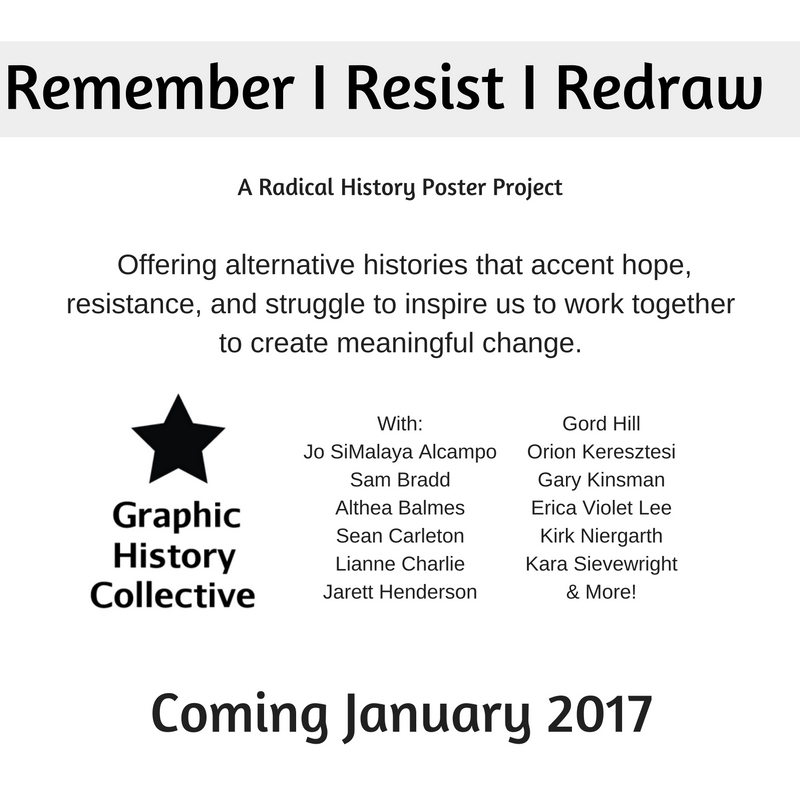 Announcing Remember | Resist | Redraw: A Radical History Poster Project