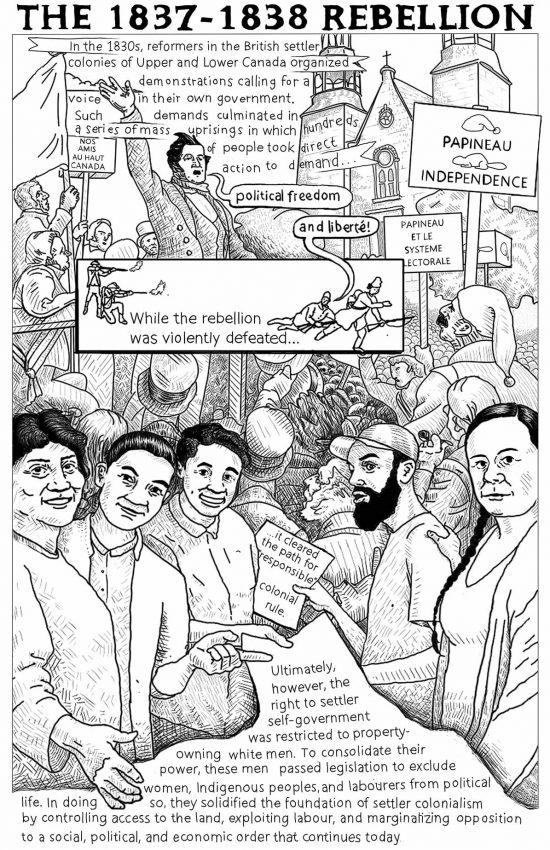 Poster #04: The 1837–1838 Rebellion
