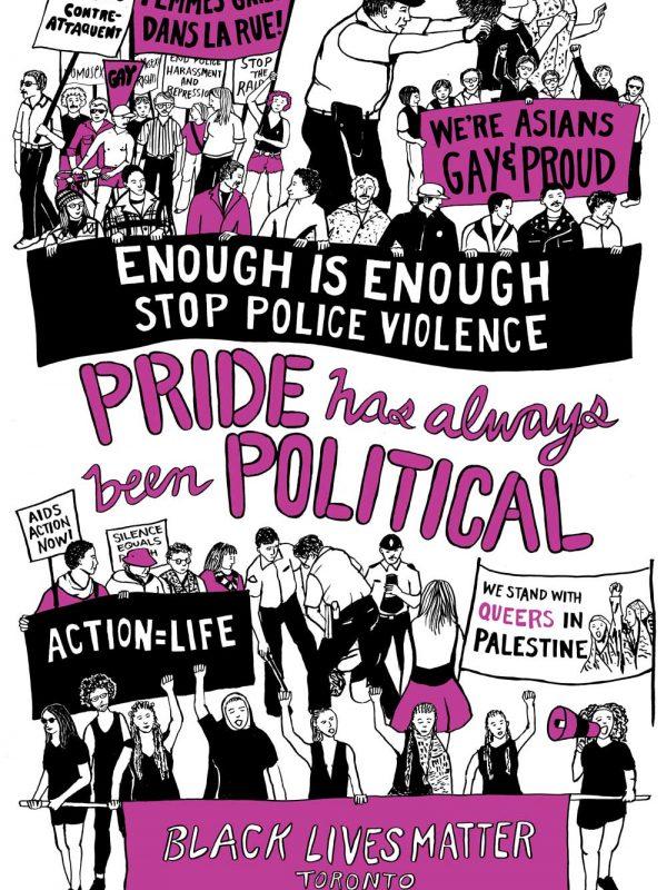 Poster #06: Pride has always been political