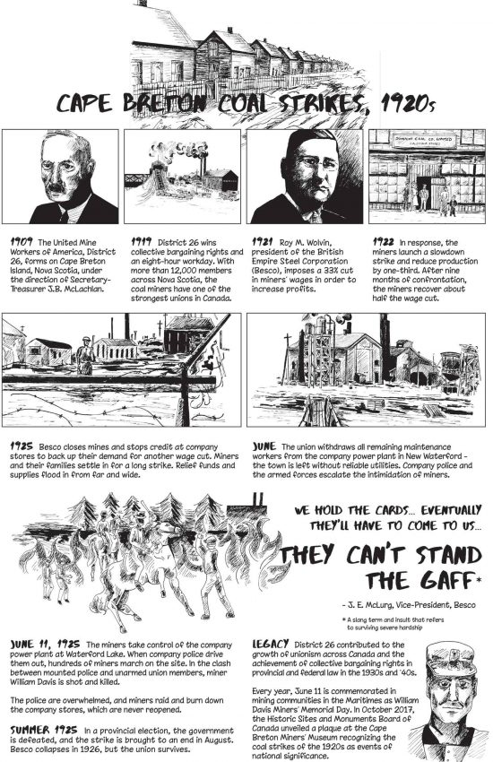 Poster #15: Cape Breton Coal Strikes, 1920s