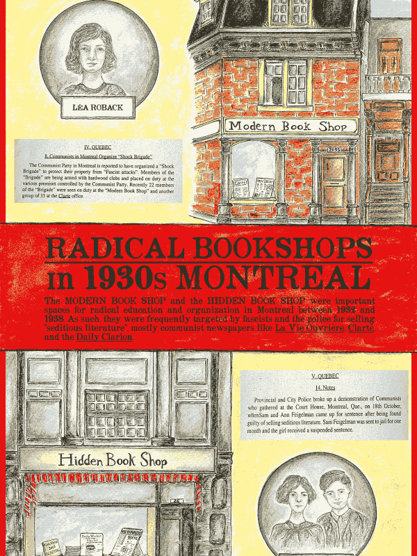 Poster #16: Radical Bookshops in 1930s Montréal