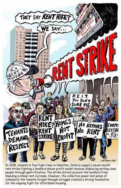 Hamiliton Rent Strike