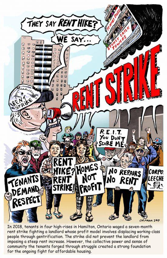 Poster #21: Hamilton Rent Strike
