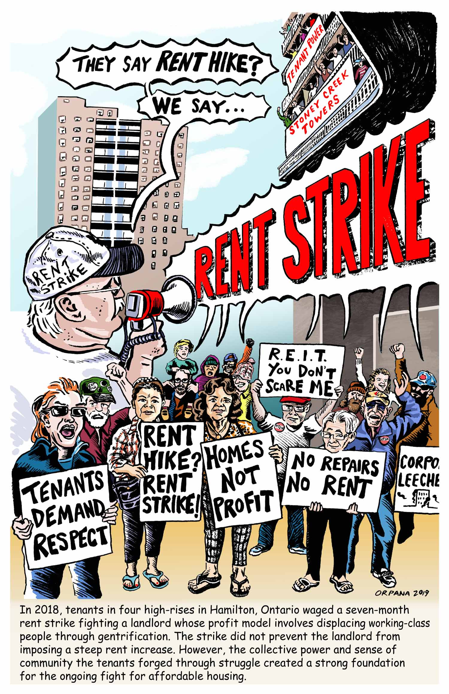 Hamiliton Rent Strike