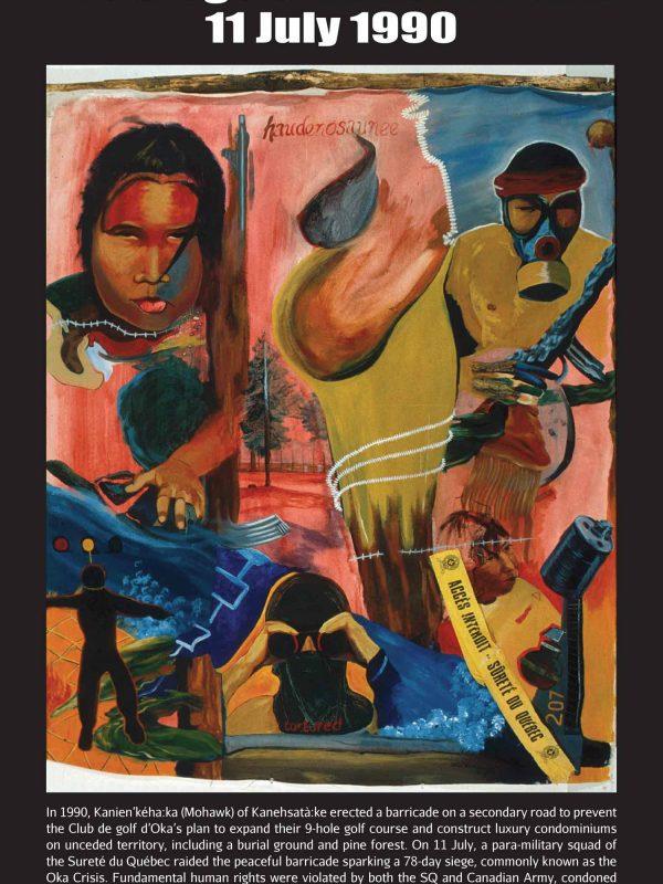 Poster #24: The Seige of Kanehsatà:ke