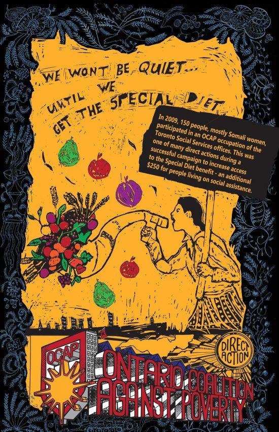 Poster #25: We Won't Be Quiet Until We Get the Special Diet